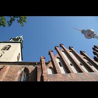 Berlin (Mitte), St. Marienkirche, Turm-Perspektiven