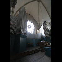 München, St. Lukas, Orgel mit Spieltisch