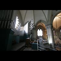 München, St. Lukas, Blick von der Orgelempore in die Kirche