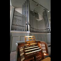 München, St. Markus (Ott-Orgel), Hauptorgel mit Spieltisch