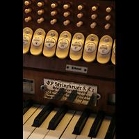 München, St. Markus (Ott-Orgel), Registerwippen