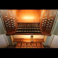 München, St. Markus (Ott-Orgel), Spieltisch der Chororgel