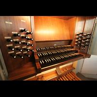 München, St. Markus (Ott-Orgel), Spieltisch der Ott-Orgel