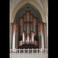München, Liebfrauendom (Hauptorgelanlage), Prospekt der großen Orgel