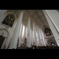 München, Liebfrauendom (Hauptorgelanlage), Chororgel und Hauptorgel