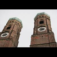 München, Liebfrauendom (Hauptorgelanlage), Zwillingstürme