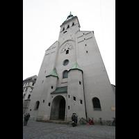 München, Alt St. Peter (Hauptorgel), Fassade