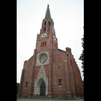 München, Mariahilf-Kirche (Hauptorgel), Fassade
