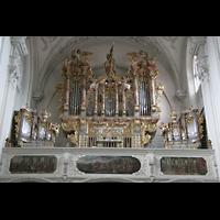 Landsberg, Stadtpfarrkirche Mariä-Himmelfahrt, Orgelprospekt