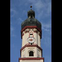 Landsberg, Stadtpfarrkirche Mariä-Himmelfahrt, Turm