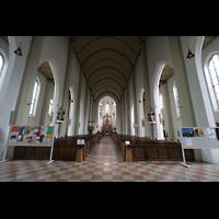 Salzburg, St. Andrä, Kirchen-Innenraum