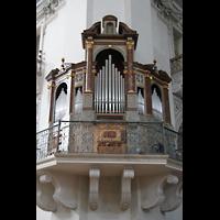 Salzburg, Dom (Hauptorgel), Südwestliche Pfeilerorgel (Renaissance-Orgel)
