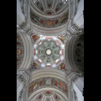 Salzburg, Dom (Hauptorgel), Vierung mit Kuppel