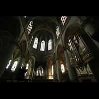 Linz, Maria-Empfängnis-Dom (Hauptorgel), Chor mit Chororgel