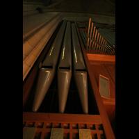 Linz, Maria-Empfängnis-Dom (Hauptorgel), Linker Pedalturm großen Orgel