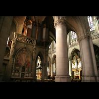 Linz, Maria-Empfängnis-Dom (Hauptorgel), Alte Orgel an der Vierung