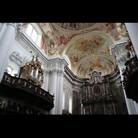 St. Florian (bei Linz), Stiftskirche, Chor mit Chororgel