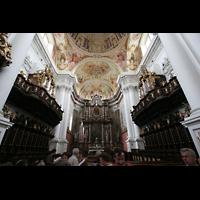 St. Florian (bei Linz), Stiftskirche, Beide Chororgeln