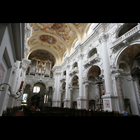 St. Florian (bei Linz), Stiftskirche, Kirchen-Innenraum