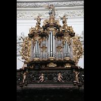 St. Florian (bei Linz), Stiftskirche, Chororgel-Prospekt