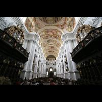 St. Florian (bei Linz), Stiftskirche, Chor mit Chororgeln