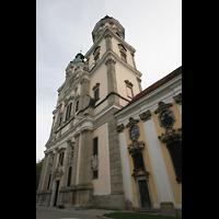 St. Florian (bei Linz), Stiftskirche, Fassade