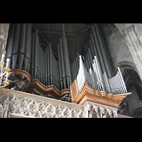 Wien (Vienna), Stephansdom (Orgelanlage), Rückpositiv der alten Hauptorgel