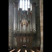 Wien (Vienna), Stephansdom (Orgelanlage), Prospekt der Rieger-Orgel
