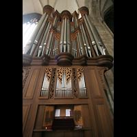 Wien (Vienna), Stephansdom (Orgelanlage), Rieger-Orgel mit Spieltisch