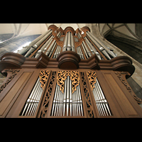 Wien (Vienna), Stephansdom (Orgelanlage), Detail der Rieger-Orgel