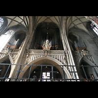 Wien (Vienna), Stephansdom (Orgelanlage), Alte Hauptorgel mit Seitenpositiven