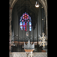 Wien (Vienna), Stephansdom (Orgelanlage), Prospekt der alten Hauptorgel