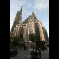Wien (Vienna), Stephansdom (Orgelanlage), Chor von außen