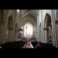 Wien, Michaelerkirche (ehem. Hofpfarrkirche St. Michael), Innenraum / Hauptschiff in Richtung Chor