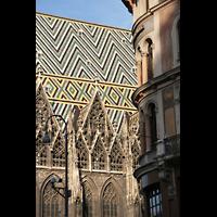 Wien (Vienna), Stephansdom (Orgelanlage), Dach-Detail