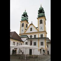 Passau, Mariahilf Wallfahrtskirche, Doppelturmfassade