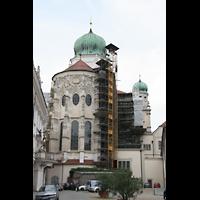 Passau, Dom St. Stephan, Chor von außen