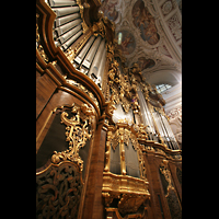 Passau, Dom St. Stephan, Hauptorgel-Perspektive