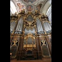 Passau, Dom St. Stephan, Hauptorgel mit mechanischem Spieltisch