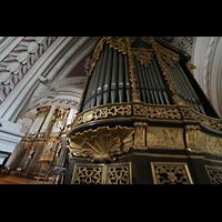 Passau, Dom St. Stephan, Evangelienorgel und Hauptorgel