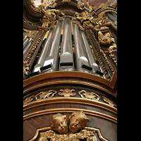 Passau, Dom St. Stephan, Pedalturm der Hauptorgel