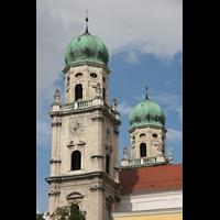 Passau, Dom St. Stephan, Türme