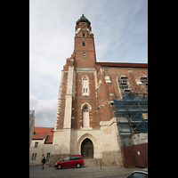 Straubing, Basilika St. Jakob, Seitenansicht