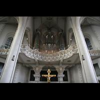 Ingolstadt, Liebfrauenmünster (Truhenorgel), Orgelempore