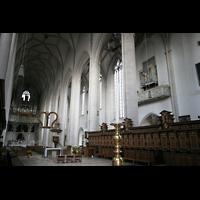 Ingolstadt, Liebfrauenmünster (Truhenorgel), Chor- und Hauptorgel