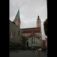 Ingolstadt, St. Moritz, Außenansicht