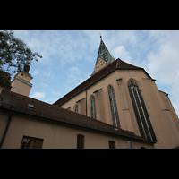 Ingolstadt, St. Moritz, Chorraum von außen