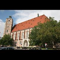 Ingolstadt, Liebfrauenmünster (Truhenorgel), Ansicht von der Seite