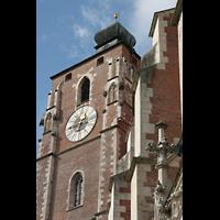 Ingolstadt, Liebfrauenmünster (Truhenorgel), Turm