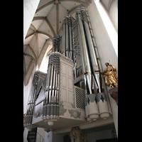 Eichstätt, Dom, Perspektivische Orgelansicht